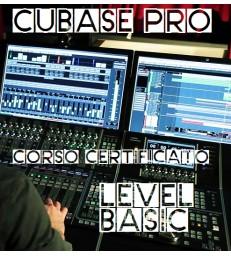 """Corso Certificato Cubase Pro """"Basic"""""""