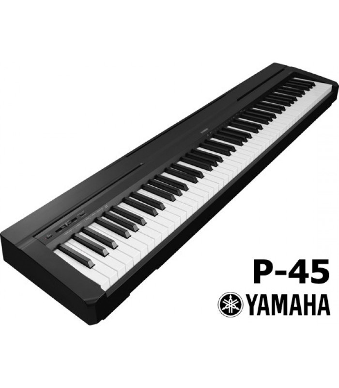 yamaha p45 stage piano 88 tasti. Black Bedroom Furniture Sets. Home Design Ideas